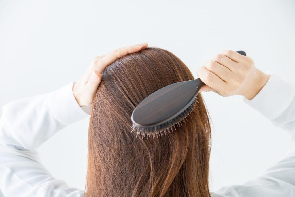女性の抜け毛と薄毛
